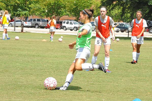 Women's Soccer vs Delta State 2013