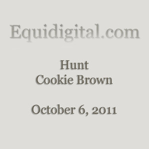 October 6, 2011 - Hunt - Cookie Brown