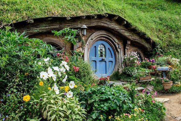 Hobbiton and Wellington, NZ