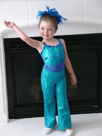 Lauren Ready for Dance