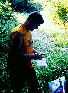 Governor Bebb Orienteering, August 17, 2005