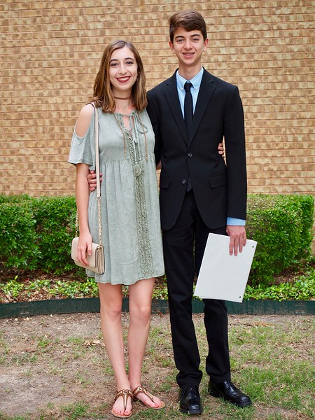 Katie and Kevin at Kevin's spring piano recital 2017