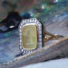 'Faithful & Firm' Yellow Chalcedony Ring, by Seal & Scribe 19