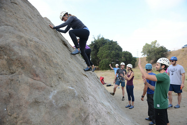 Stoney Point Rock Climbing Class June 28, 2014