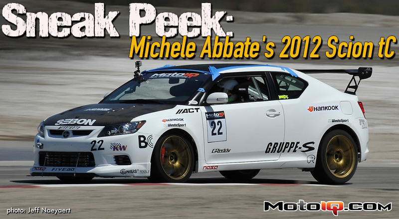 Sneak Peak: Michell Abbate's 2012 Scion tC