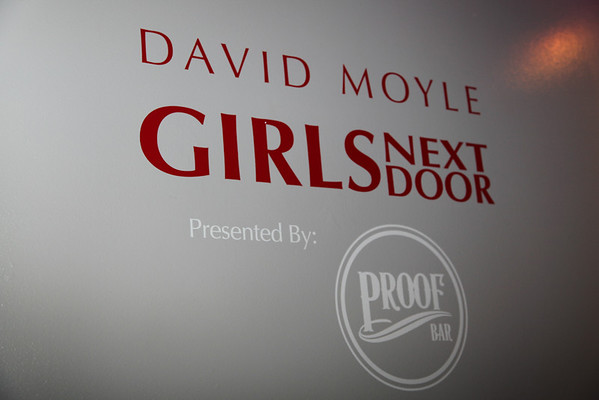 Girls Next Door Art Exhibit by David Moyle