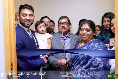 Grand Opening  of  Ramachandran Law    Feb 08,2020