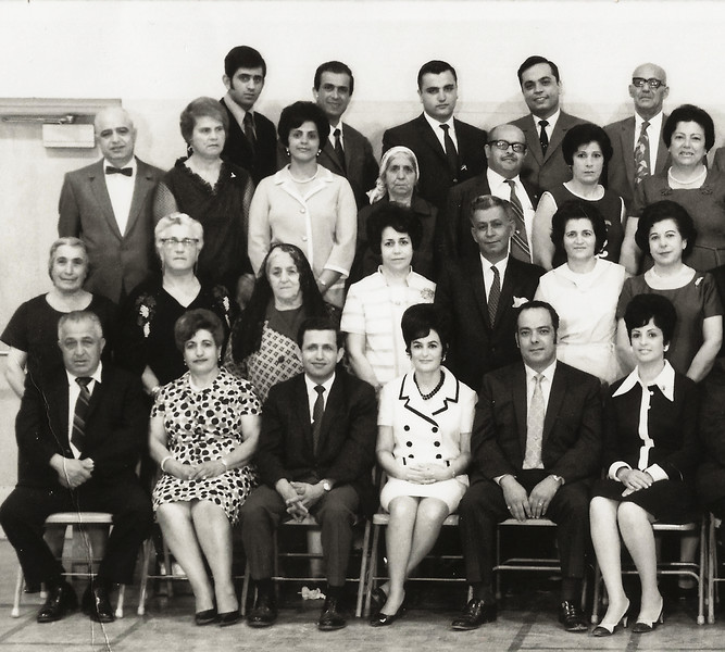 San Diego Ramallah Club in the 1970s