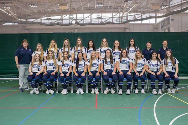 Softball Team photos, March 2019