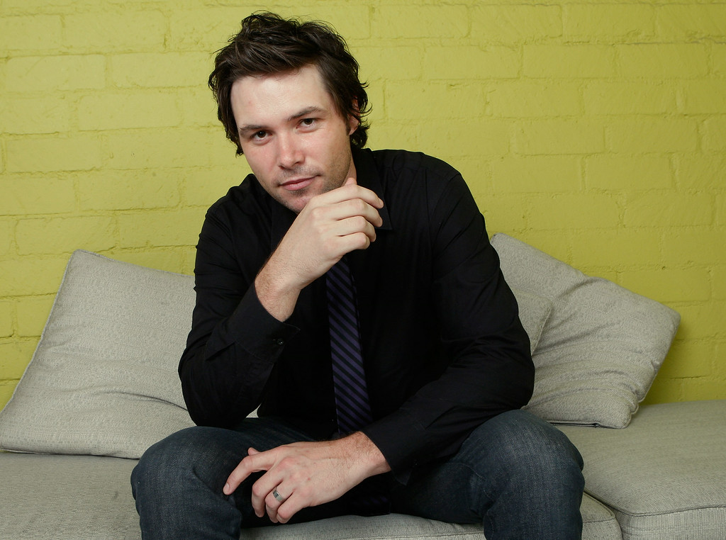 """. American Idol contestant Michael Johns poses for a portrait during the Australians In Film 2008 \""""Breakthrough Awards\"""" held at the Avalon Hotel on June 5, 2008 in Los Angeles, California.  (Photo by Michael Buckner/Getty Images)"""