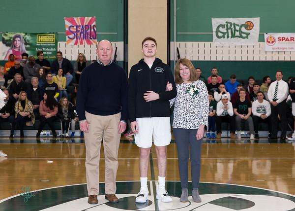 PR Basketball Senior Photos