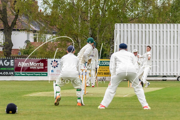 Kidderminster Cricket Club (2nd XI) vs Barnards Green Crciket Club (2nd XI) 01/05/21