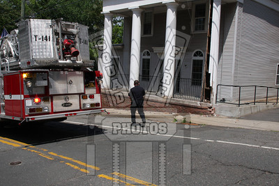 Vernon, Ct car vs. building
