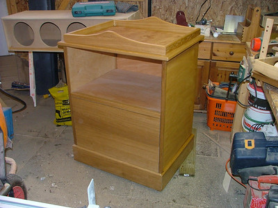 Baby Changing unit in English Oak