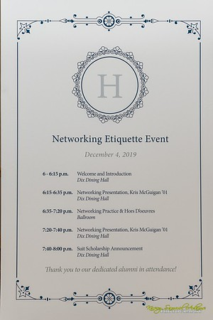 2019 Networking Etiquette Event