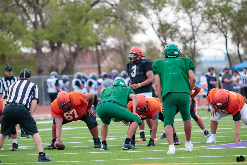 Gallup Area Football Scrimmages 2021