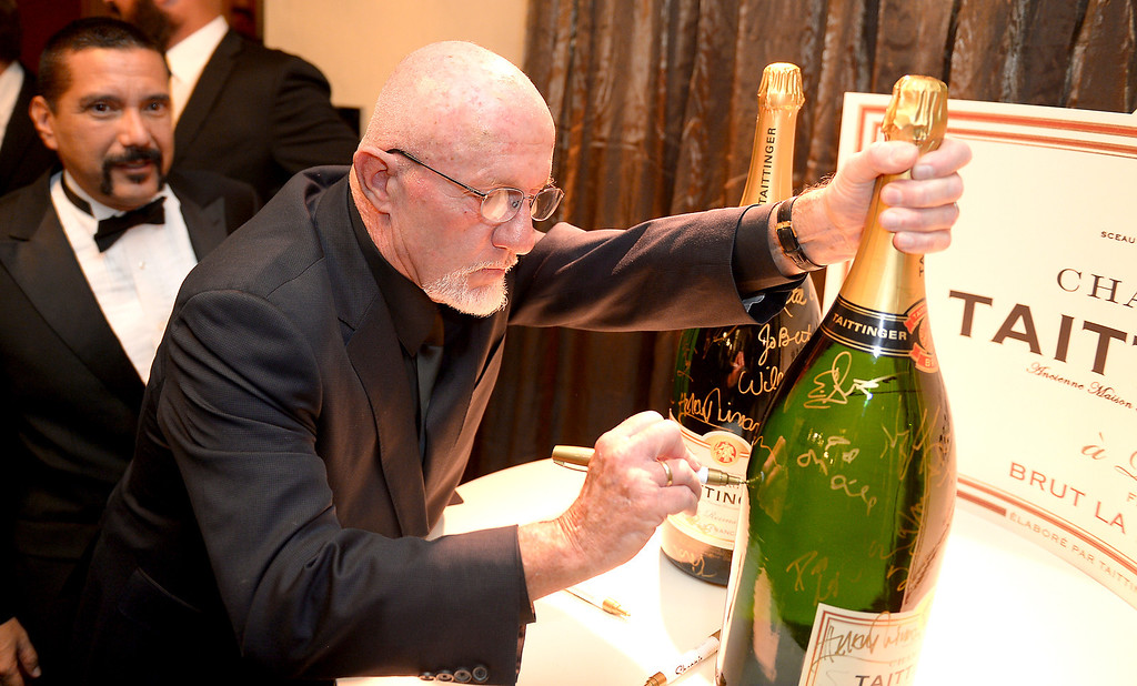 . Jonathan Banks backstage at the 20th Annual Screen Actors Guild Awards  at the Shrine Auditorium in Los Angeles, California on Saturday January 18, 2014 (Photo by Michael Owen Baker / Los Angeles Daily News)