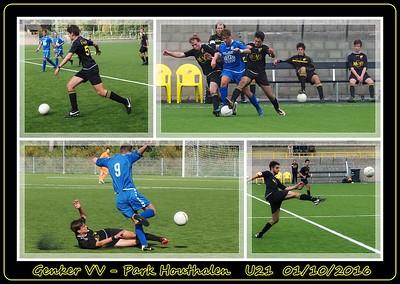 Genker VV - Park Houthalen  U21  01/10/2016