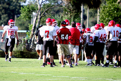 Jenkins vs SCPS Football Scrimmage