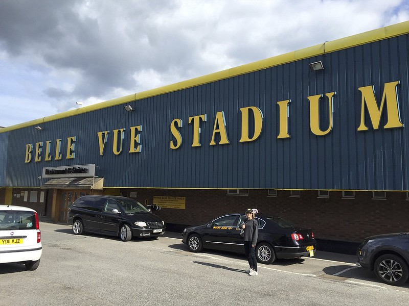 This would be a return visit to the Belle Vue Stadium for me.