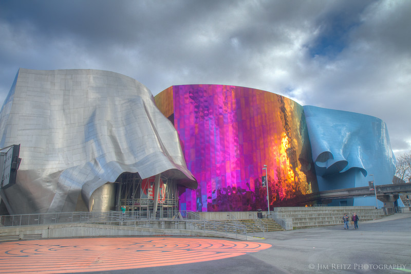 Experience Music Project and Science Fiction Museum (EMP/SFM) in Seattle
