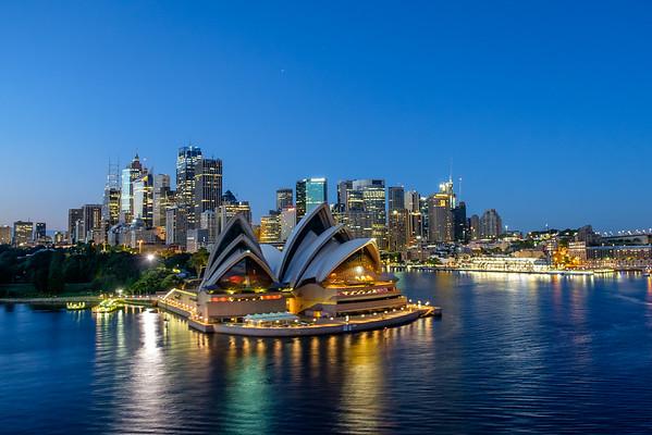 Sydney and Tasmania, AU