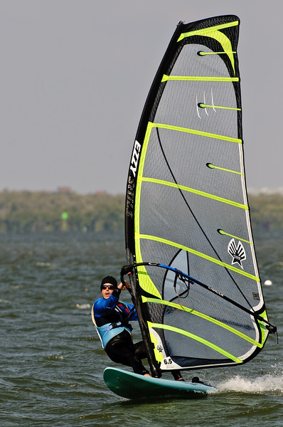 Windsurfing at Sanibel Causeway