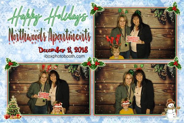 Northwoods Apartments Christmas 2018