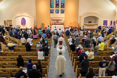 Saint Francis Parish Holy Thursday Service 2017