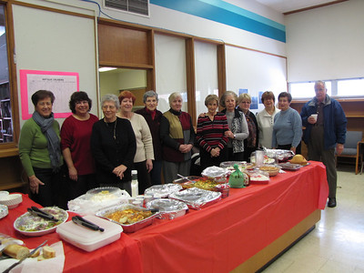 Seniors Ministry - Luncheon - February 14, 2013