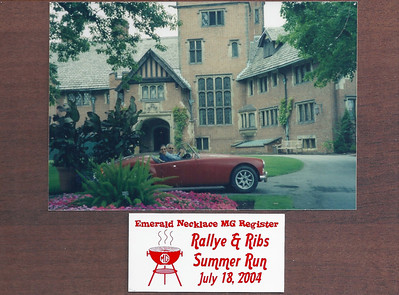 Rallye and Ribs Summer Run