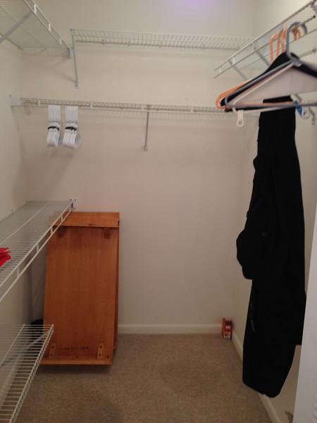 Master Closet @ Purchase 2012