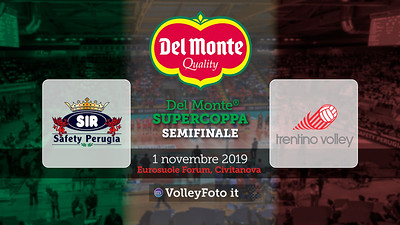 20191101 Semifinale Supercoppa: Perugia-Trento