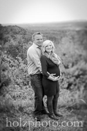 JoBeth & John B/W Maternity Photos