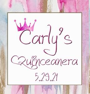 CARLY'S QUINCEAÑERA