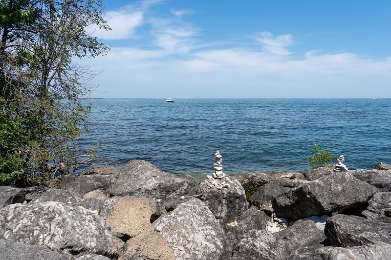 Kelleys Island on Lake Erie