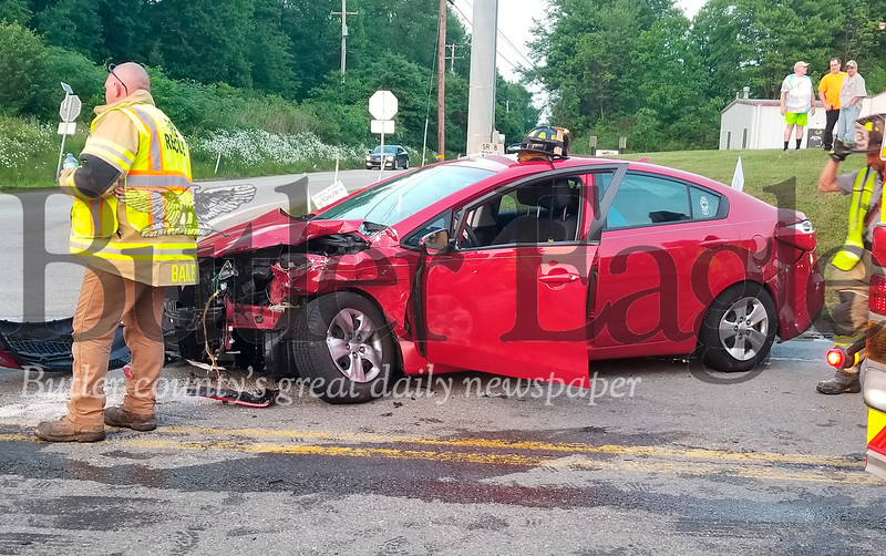 Branchton Road and Route 8 accident