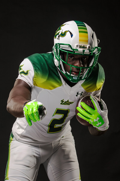 South Florida Bulls uniform shoot