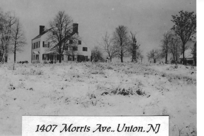 This Townley Family home was located on the westbound side of Morris Ave. at the end of Colonial Ave.