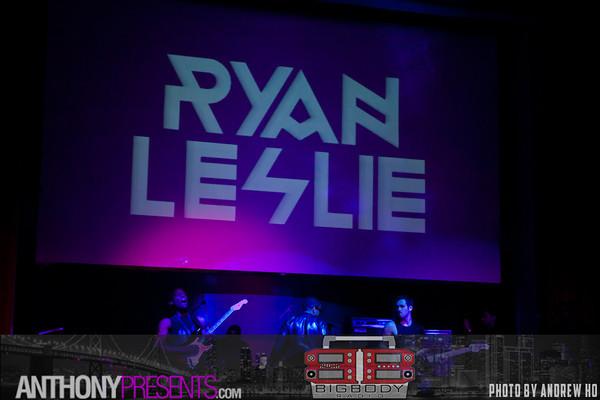 Ryan Leslie @ Ruby Skye 9/18/2012