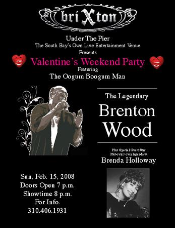 BRENTON WOOD @ BRIXTON'S