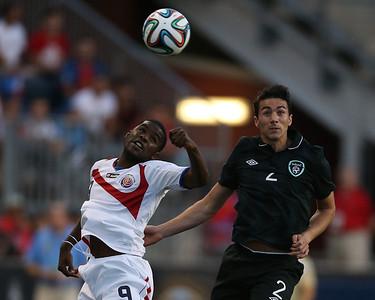 Ireland v Costa Rica Soccer at PPL Park 140606