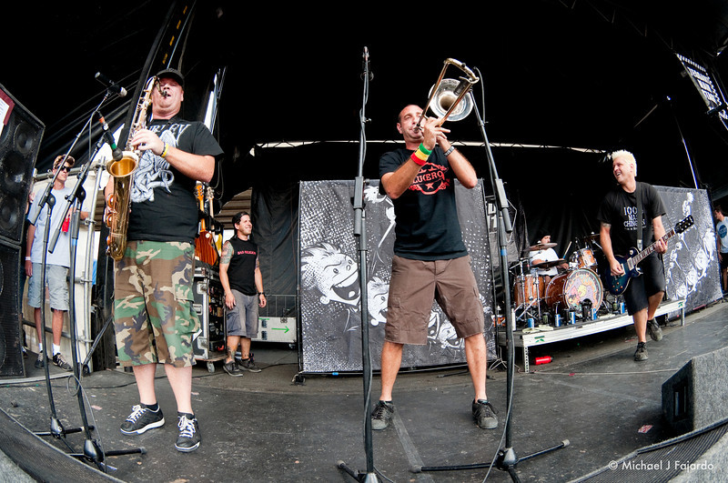 Less Than Jake 2011 Warped Tour Invesco Field at Mile High Denver, CO  August 05, 2011