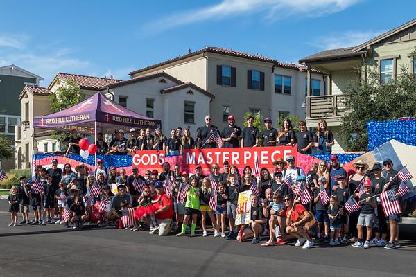 2021-10-02 Tiller Day Parade