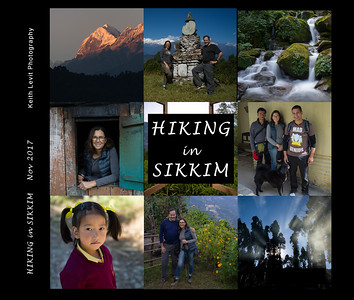 HIKING in SIKKIM - the book