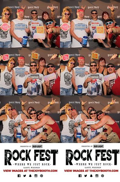 Rock Fest 2021 FRIDAY 7-16-21 VIP TENT PRINTS