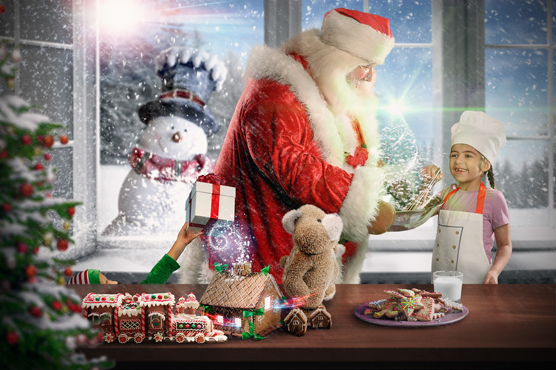 Winter window background and free space for your decoration.Christmas time.