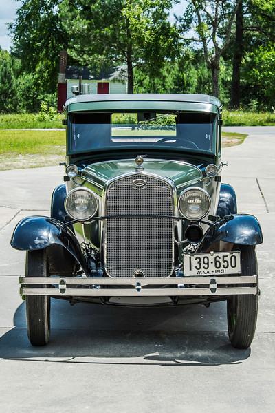 W L High's Model A Ford