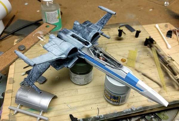 Bandai X-Wing T-70