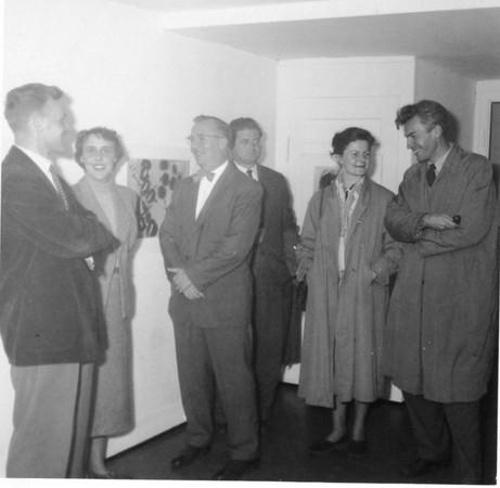 Exhibition WerthmullerGallery Basel Switzerland Sept 1954